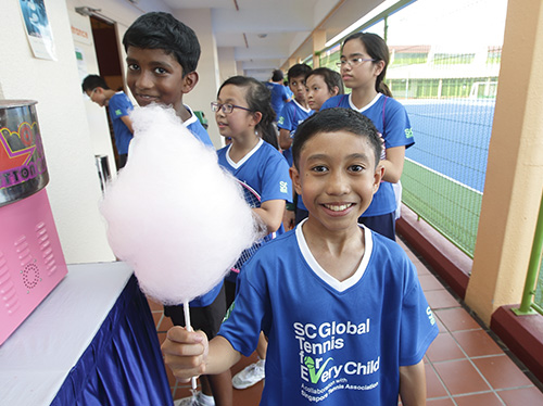 SC Global Tennis For Every Child Inter-School Carnival